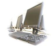 Computadores Fotografia de Stock Royalty Free