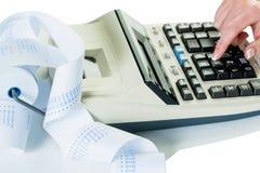 Computadores de secretária e tiras de computação foto de stock royalty free