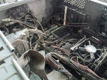 Computadores velhos Imagem de Stock