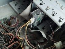 Computadores velhos Fotografia de Stock