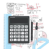 Computational Mathematics With Calculators And Accessories Stock Photography