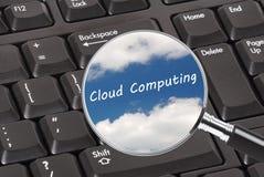 Computazione della nube Fotografie Stock Libere da Diritti