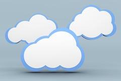 Computazione della nuvola Fotografia Stock Libera da Diritti
