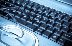 Computazione domestica Immagine Stock