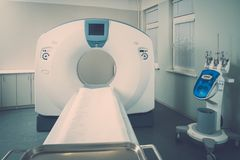Computed tomography scanner Stock Image