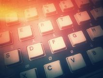 ComputerÂ-Tastatur Stockfoto
