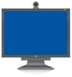 Computer-Überwachungsgerät Lizenzfreie Stockfotografie