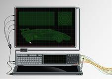 Computer stock illustration