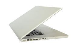 Computer. Laptop in white background Stock Images