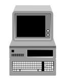 Computer Fotografia Stock Libera da Diritti