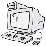 Computer Fotografia Stock