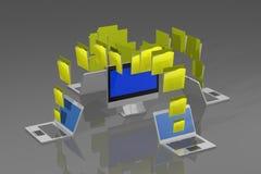 Computer Immagine Stock Libera da Diritti