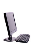 Computer. Personal Computer isolated on white background with clipping path Royalty Free Stock Image