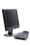 Computer. Personal Computer isolated on white background with clipping path Royalty Free Stock Images