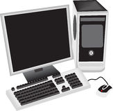Computer Royalty-vrije Stock Foto's