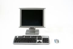 Computer. System, desktop Stock Photography