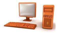 Computer Lizenzfreie Stockfotos