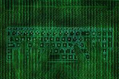Computer abstract illustration stock illustration