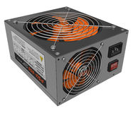 Computer AC power supply unit Royalty Free Stock Photo