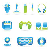 Computer Accessories Royalty Free Stock Photography