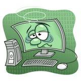 Computer ammalato royalty illustrazione gratis