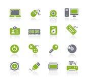 Computer & de Reeks van // Natura van Apparaten vector illustratie