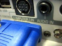 Computer-Anschluss Lizenzfreies Stockfoto