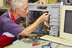 Computer Assembly Stock Images