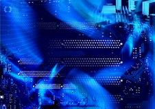 COMPUTER-AUSLEGUNG-HINTERGRUND Lizenzfreie Stockfotos