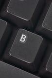 Computer B key stock photography