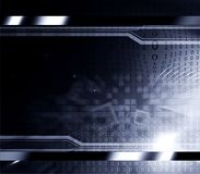 Computer background. Abstract design, binary-codes technology backdrop Royalty Free Stock Photography