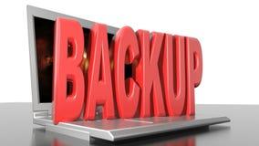Computer backup stock video