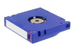 Computer backup tape royalty free stock image