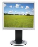 Computer-Überwachungsgerät Lizenzfreies Stockbild