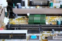 Computer binnen Royalty-vrije Stock Foto
