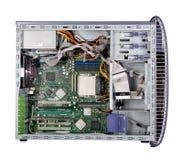 Computer binnen Royalty-vrije Stock Fotografie