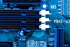 Computer board Stock Photo