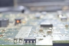 Computer board background Royalty Free Stock Photography