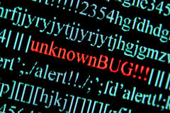 Computer bug Royalty Free Stock Photography