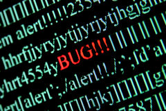 Computer bug Stock Photos