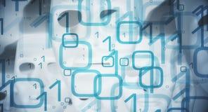 Computer bug, big data concept Stock Image