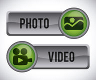 Computer button Royalty Free Stock Image
