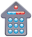 Computer buttons Royalty Free Stock Photos
