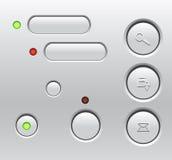 Computer Buttons Stock Photos