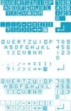 Computer buttons collection Stock Photos