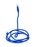 Computer cable like a snake Stock Image