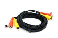 Computer cables Stock Image