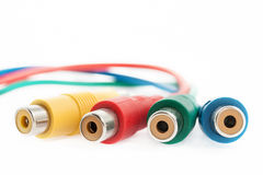 Computer cables Stock Images