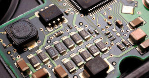 Computer card Royalty Free Stock Photography