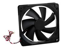 Computer case cooling fan Royalty Free Stock Photos